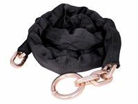 Lock chain with nylon cover, class 3