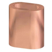 Ferrules made of copper