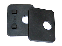 Rubber for square glass clamp 55 (8-12.76 mm)