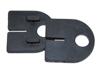 Rubber for D-type glass clamp (10.76-12.76 mm)