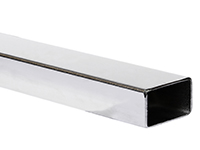 Rectangular tube, acid-resistant AISI 316