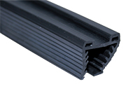 Rubber moulding for U-tube