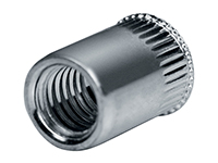 Blind rivet nut, standard, steel