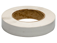Fabric-reinforced tape, white