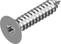Self-tapping screw, countersunk Torx A4, DIN 9478 (pcs)